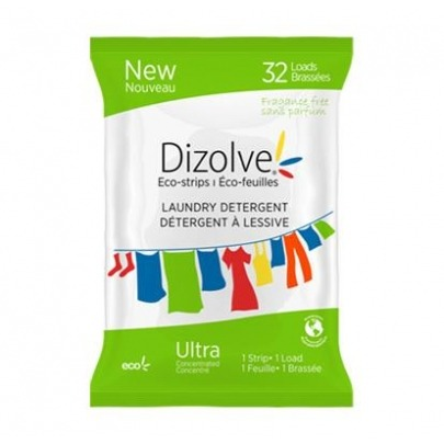 Detergente Ecolaminitas Marca Dizolve 32 Unidades