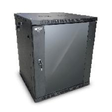 Nexxt Solutions SKD - Armario - instalable en pared - RAL 9005, negro barniz - 18U - 19