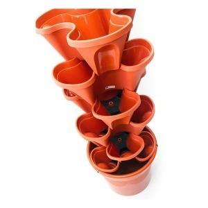 Kit de Jardín Vertical Irisana Terracota Ecogarden Plástico Terracota (45 x 45 cm)