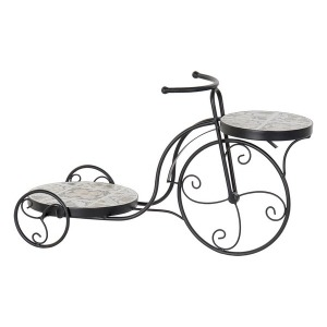 Macetero Dekodonia Bicicleta Mosaico (59 x 24 x 34 cm)