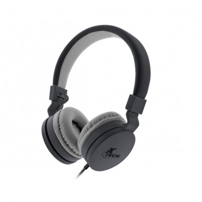Xtech Alloy - XTH-340 - Headphones with microphone - Wired - Headphone: Driver unit: Fi40mm - Maximum power output (R.M.S.): 10mW - Frequency response: 20Hz 20kHz - Sensitivity: 105 ± 3dB/mW S.P.L. at
