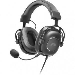 Auriculares Gaming con Micrófono Mars Gaming MH6/ Jack 3.5/ USB 2.0/ Negros