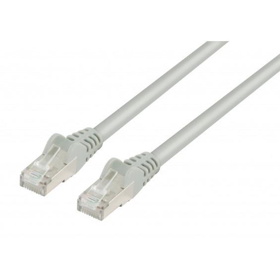 Cable Ethernet FTP CAT7 GRIS 1.00m.