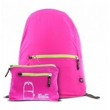 Klip Xtreme - Nylon fabric - Neon pink - Foldable Backpack