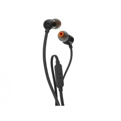 JBL T110 - Earphones with mic - in-ear - wired - 3.5 mm jack - black