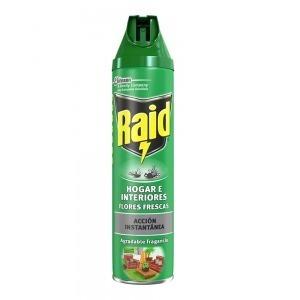 Insecticida Raid Insectos voladores Fresco (600 ml)