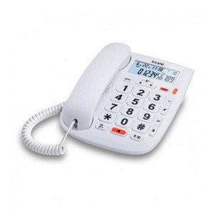 Teléfono Fijo para Mayores Alcatel T MAX 20 Blanco