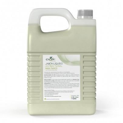 Exotik Jabon Liquido Para Manos Antibacterial White Tea 3.785L