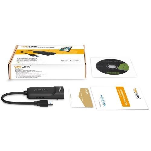 Tarjeta Gráfica USB 3.0 a HDMI para Windows y Mac OS