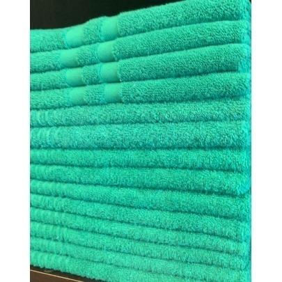 Toalla de manos Cantel , 100% Algodon , Absorbente , color Verde esmeralda , medida 20x30 Pulgadas