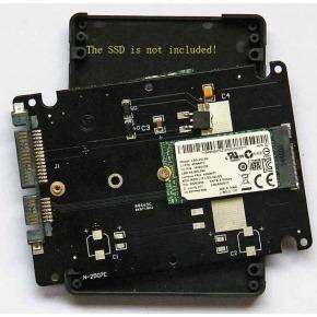 Adaptador SATA SSD a discos M2 en formato HDD 2.5