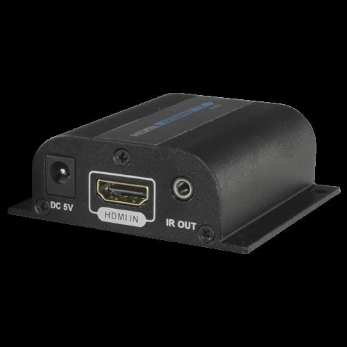Extensor activo HDMI 4K - Receptor compatible con HDMI-EXT-PRO-4K - Alcance 120 m sobre cable UTP Cat 6 - Transmisión de IR - Permite conexión punto a punto hasta 253 receptores