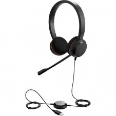 Jabra Evolve 20 UC stereo - Headset - on-ear - Duo UC. Stereo UC