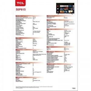 Smart TV TCL 50P616