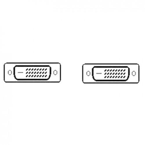 Cable DVI-D a DVI-D M/M (24+1) 10 metros