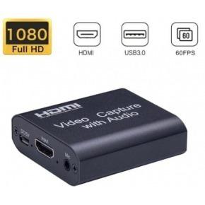Capturadora de video Hdmi 4K con mic in