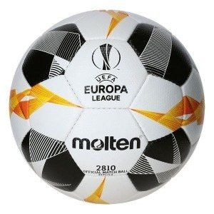 Balón de Fútbol Molten F5U2810-G19 UEL Blanco Cuero Sintético (Talla 5)