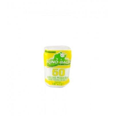 Bolsas para Basura Biodegradables Pequeñas 50 Unidades