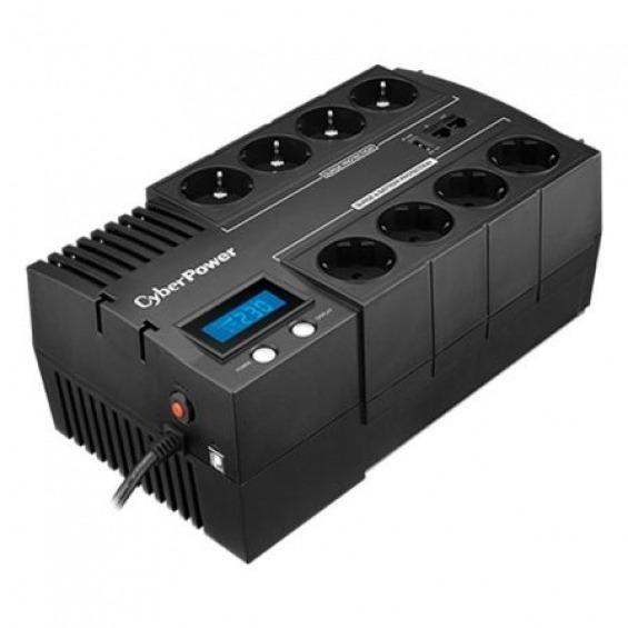SAI Línea Interactiva Cyberpower BR1000ELCD/ 1000VA-600W/ 8 Salidas/ Formato Bloque