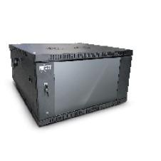 Nexxt Solutions SKD - Armario - instalable en pared - RAL 9005, negro barniz - 4U - 19