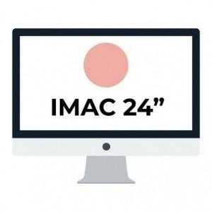 "Apple iMac 24"" Retina 4.5K/ Chip M1 CPU 8 Núcleos/ 8GB/ 256GB/ GPU 7 Núcleos / Rosa"