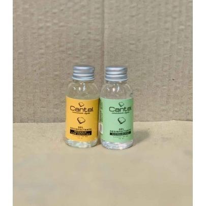 Antibacterial en Gel de 40 ml con Aroma a Naranja Marca Cantel