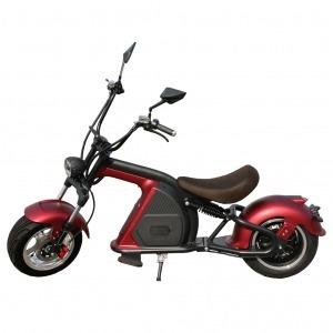 Scooter Eléctrica E-Custom 49e 2000W / 30AH Rojo