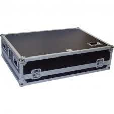 Flight Case Yamaha® MGP32XD/ Allen&Heath® GL2400-432 Plata (Ruedas).