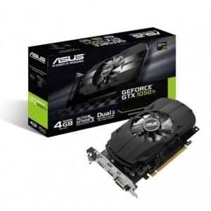 TARJETA GRÁFICA ASUS GEFORCE GTX1050 TI - GPU 1290MHZ - 4GB GDDR5 - PCI EXPRESS 3.0 - DVI-D - HDMI - DISPLAY PORT