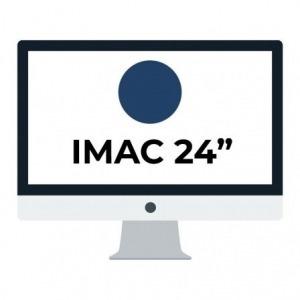 "Apple iMac 24"" Retina 4.5K/ Chip M1 CPU 8 Núcleos/ 8GB/ 256GB/ GPU 7 Núcleos / Azúl"