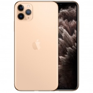 Telefono movil smartphone apple iphone 11 pro max 64gb gold - 6.5pulgadas - dual sim - triple camara trasera