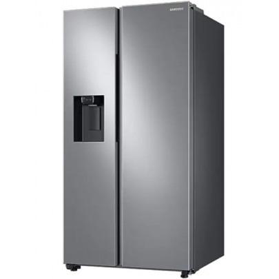 Samsung - Refrigerator side by side - RS27T5200S9AP - 27 pies - Gran capacidad (SpaceMax) - Diseño Elegante - Tecnología Digital Inverter - Con dispensador de agua y hielo - Silver - Filtro de agua in