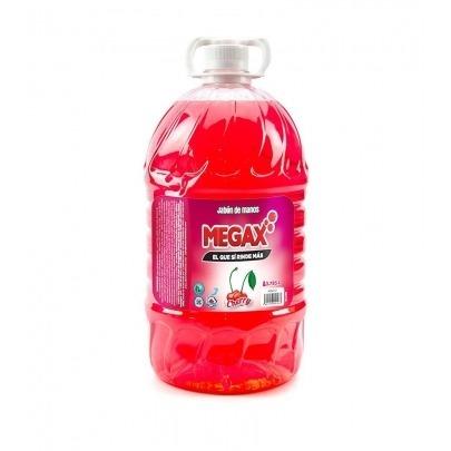 Jabón para manos Megax Cherry 3.78lts