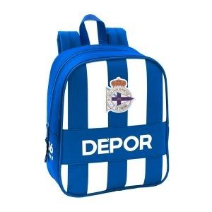 Mochila Infantil R. C. Deportivo de La Coruña Azul Blanco