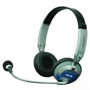 Auriculares con Micrófono NGS MSX6Pro Diadema Gris