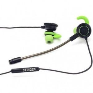 Auriculares Gaming con Micrófono Woxter Gamer Bud/ Green