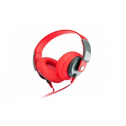 Klip Xtreme - KHS-550RD - Headset - For Cellular phone / For Phone / For Portable electronics / For Tablet - Wired - Over-the-ear-mic