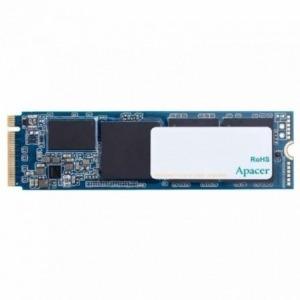 DISCO SÓLIDO APACER AS2280P4 512GB  - PCIE NVME GEN3 - M.2 2280 - LECTURA 3000MB/S - ESCRITURA 2000MB/S