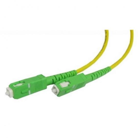 Cable fibra óptica 2XSC/APC monomodo 30.0m