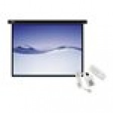 Klip Xtreme KPS-503 - Projection screen - Motorized 110v - 120 in ( 305 cm ) - 4:3 - Matte White