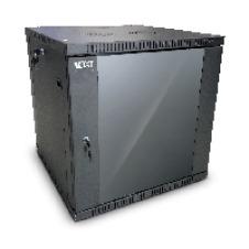 Nexxt Solutions SKD - Armario - instalable en pared - RAL 9005, negro barniz - 15U - 19