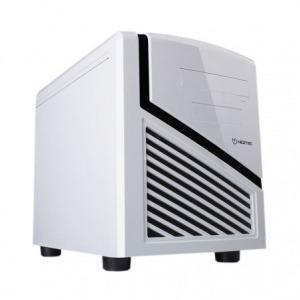 CAJA CUBO HIDITEC SNOW KUBE CHA010002 - COMPATIBLE FUENTE ATX ESTANDAR - 1X5.25 - 2X3.5 - 1X2.5 - 1XUSB3.0 - 2XUSB2.0 - LECTOR TARJETAS MICRO/SD - MIC