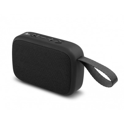 Xtech XTS-610 - Floyd Speakers - Black - Portable speaker with wireless technology and built-in microphone, for hands-free conversations - Wirelessly stream music from up to 33 feet away from the audi