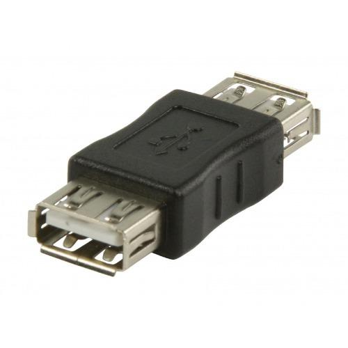 Adaptador USB (AH/AH)Hembra/Hembra
