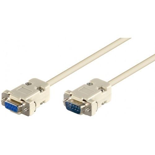 Cable Serie de 9 pines M/H DB9 de 2m