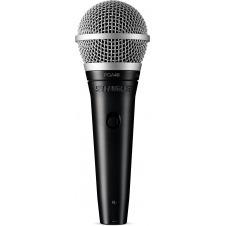 Micrófono Dinámico Vocal con Pinza y Cable XLR / XLR