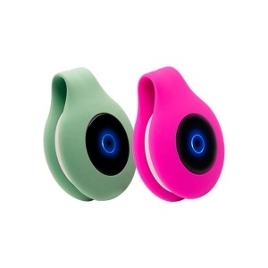 Electroestimulador iWatMotion Reflyx Zen Silicona Verde Rosa (2 uds)
