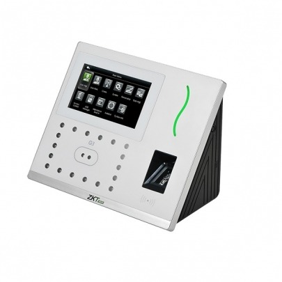 ZKTeco G3 - Multi-Biometric Teminal for Attendance Management and Access Control - Time clock system - 1.2GHz Dual Core CPU - Fingerprint SilkID - Duplicate face detector - 199.2 x 171.8 x 96.9 mm - F