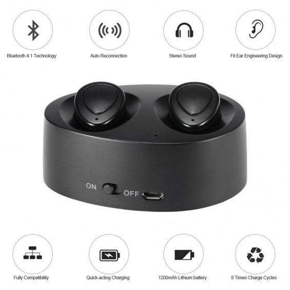 K2 True Wireless Earbuds Bluetooth Twins Stereo
