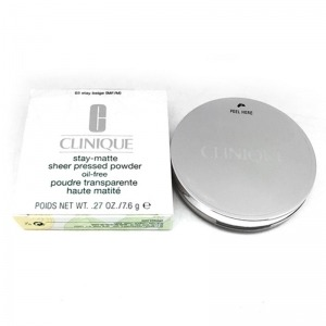 Polvos Compactos Stay-Matte Clinique 01-Stay Buff (7,6 g)